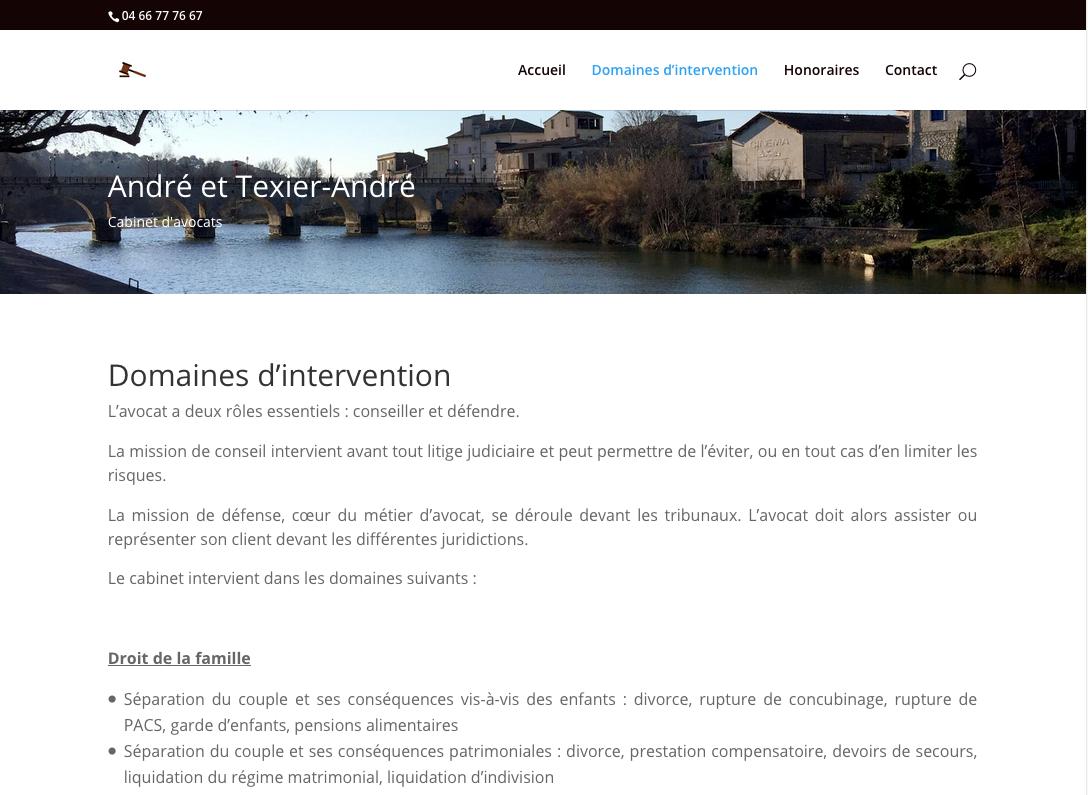 Cabinet d'avocats à Sommières et Montpellier