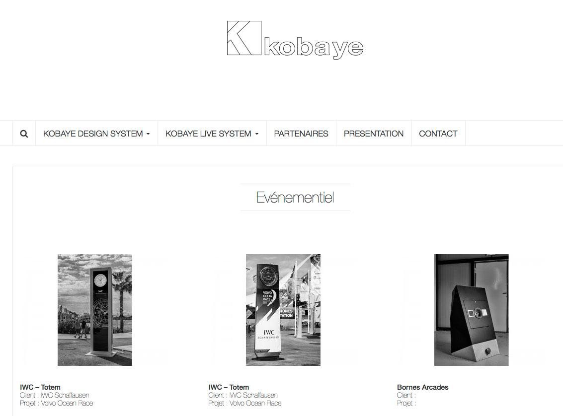 Kobaye design system, partenaire d'IWC