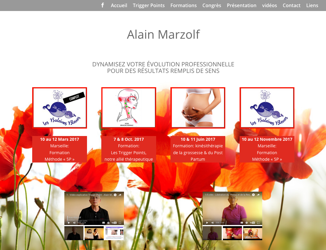Alain Marzolf : trigger points
