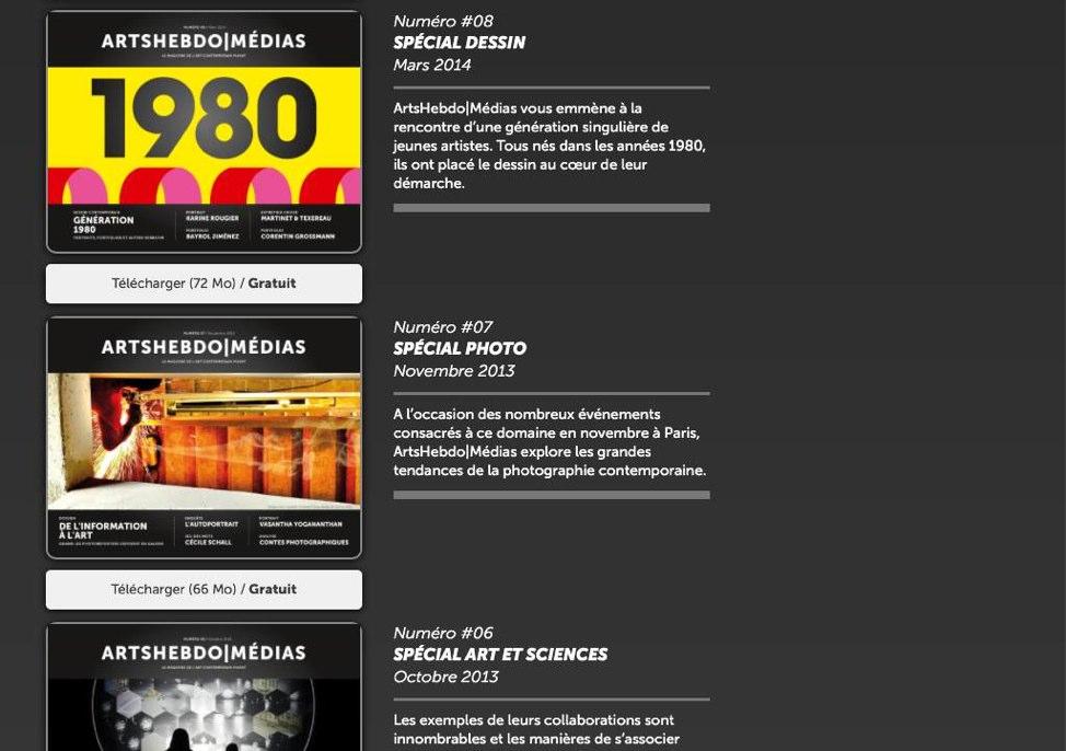 ArtsHebdo|Médias